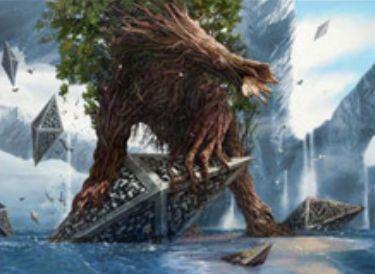 緑レア生物「Woodland Wanderer(戦乱のゼンディカー)」