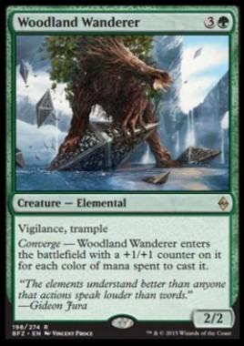 Woodland Wanderer(戦乱のゼンディカー)