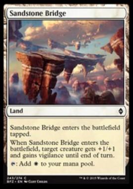 Sandstone Bridge(戦乱のゼンディカー)