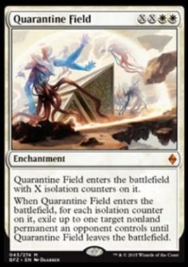 Quarantine Field(戦乱のゼンディカー)