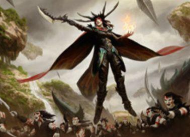 黒レアの伝説同盟者「Drana, Liberator of Malakir」(戦乱のゼンディカー)
