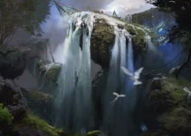 青神話ソーサリー「Part the Waterveil(戦乱のゼンディカー)」