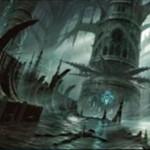 プレミアム神話レア版「湿った墓(Watery Grave)」が公開!戦乱のゼンディカーに収録の島と沼のタイプをもつショックランド!