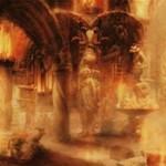 プレミアム神話レア版の「血の墓所(Blood Crypt)」が公開!戦乱のゼンディカーに希少封入されるFOIL限定の沼山ショックランド!