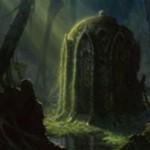 プレミアム神話レア版「草むした墓(Overgrown Tomb)」が公開!沼と森の基本土地タイプを有するショックランド!