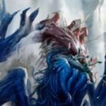 青黒神話エルドラージ「Sire of Stagnation」が公開!相手の戦場に土地が出るたびに相手のライブラリートップ2枚を追放&自分は2ドロー!※日本語名「淀みの種父」が判明!