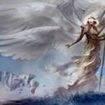 白レア天使「Emeria Shepherd」が公開!上陸で土地でないパーマネントを墓地から手札に!平地に上陸すれば手札でなく戦場へ!※日本語カード「エメリアの番人」が公開!