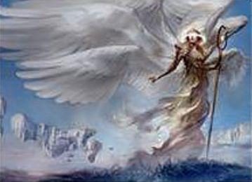 白レア天使「Emeria Shepherd」(戦乱のゼンディカー)