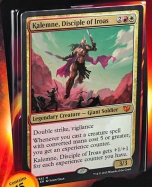 Kalemne, Disciple of Iroas(統率者2015)
