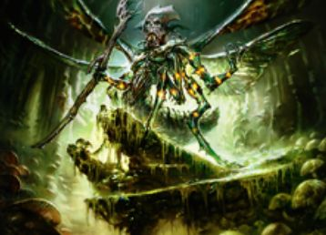 統率者2015の緑黒伝説神話「Mazirek, Kraul Death Priest」