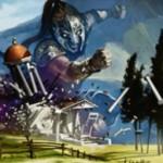 統率者2015の白レア巨人「Kalemne's Captain」が公開!怪物化時にアーティファクトとエンチャントを吹っ飛ばす!※日本語名「カレムネの隊長」が公開!