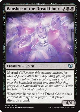 Banshee of the Dread Choir(統率者2015)