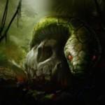 統率者2015に収録のアンコ蛇「Skullwinder」が公開!CIPでお互いに「新たな芽吹き」を発動!※日本語版カード「髑髏蛇」が公開!