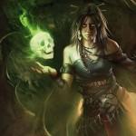 黒緑の伝説神話シャーマン「Meren Of Clan Nel Toth」が公開!クリーチャー死亡時に経験カウンター獲得&毎ターンのエンドにクリーチャーをリアニメイト!※日本語版カード「ネル・トース族のメーレン」が公開!