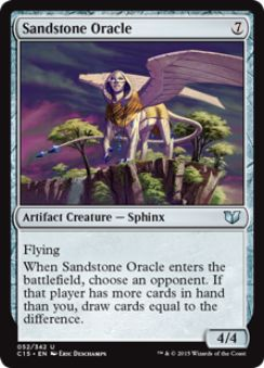 Sandstone Oracle(統率者2015)