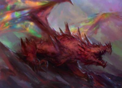赤ドラゴン「夢の略奪者(統率者2015)」
