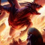赤レアエンチャント「Awaken the Sky Tyrant(統率者2015)」が公開!ダメージによってドラゴンが目覚める・・・!※日本語版カード「大空の暴君の目覚め」が公開!