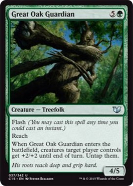 Great Oak Guardian(統率者2015)