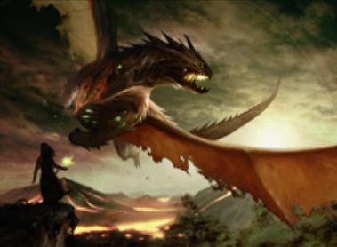 黒レアのゾンビ竜「Scourge of Nel Toth(統率者2015)」