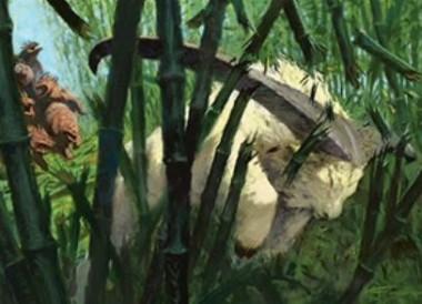 緑レアのヤギ「Pathbreaker Ibex(統率者2015)」