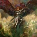 統率者2015の白アンコ天使「天軍の伝令」が公開!無尽を持った「セラの天使」!