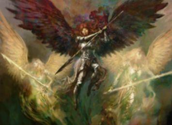 統率者2015の白アンコ天使「天軍の伝令」
