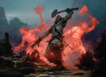 統率者2015の赤アンコ巨人「戦長の巨人」