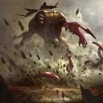 赤神話インスタント「Kozilek's Return(ゲートウォッチの誓い)」が公開!欠色の「紅蓮地獄」かつ巨大エルドラージを唱えると墓地からも発動!※日本語名は「コジレックの帰還」!