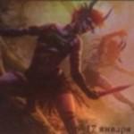 伝説のエルフ同盟者「Mina and Denn, Wildborn」が公開!追加の土地プレイ&土地を手札に戻してトランプルを付与!※日本語版カード「野生生まれのミーナとデーン」が公開!
