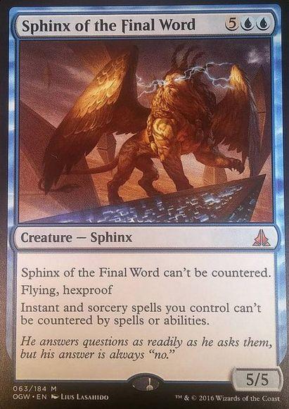 Sphinx of the Final World(ゲートウォッチの誓い)