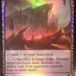 Tectonic Edge(ゲートウォッチの誓い Zendikar Expeditions プレミアム神話レア)