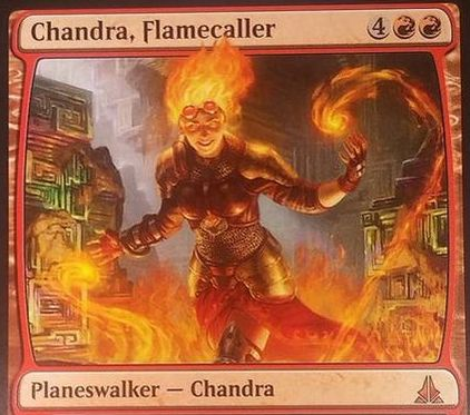 ゲートウォッチの誓いの新チャンドラ「Chandra, Flamecaller」