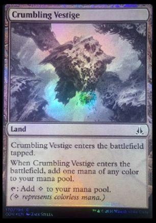 Crumbling Vestige(ゲートウォッチの誓い)