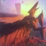 赤白のミシュラランド「Spire's Needle(ゲートウォッチの誓い)」が公開!二段攻撃を持つエレメンタル・クリーチャーに変身!※日本語版カード「鋭い突端」が公開!