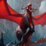 ゲートウォッチの誓いの赤レアドラゴン「ヴァラクートの暴君」が公開!怒涛で5マナ5/4「飛行」になるとともにCIPで「稲妻」を吐く!