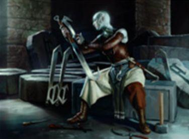ゲートウォッチの誓い収録の白レア生物「Stone Haven Outfitter」
