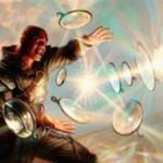 ゲートウォッチの誓いのアゾリウスアンコ生物「Reflector Mage」が公開!相手のクリーチャーをバウンスしつつ同名カードをプレイ不可に!※日本語名は「反射魔道士」!