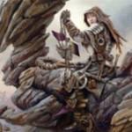 グルール色の戦士「Relentless Hunter」がゲートウォッチの誓いに収録!自己パンプ&トランプル付与が可能!※日本語名は「執拗な狩人」!