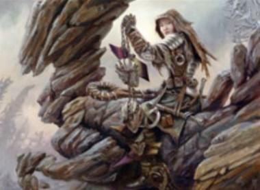 グルール色の戦士「Relentless Hunter」(ゲートウォッチの誓い)