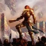 白の伝説神話同盟者「General Tazri」がゲートウォッチの誓いに収録!CIPで同盟者サーチ&自軍の色の数だけ全体強化する起動型能力を有する人間!※日本語名は「タズリ将軍」!