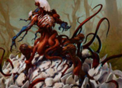 黒レアの欠色エルドラージ「Sifter of Skulls」(ゲートウォッチの誓い)