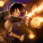 ゲートウォッチの誓いの赤アンコエンチャント「Pyromancer's Assault」が公開!2枚目の呪文に「ショック」を付与!※日本語名は「紅蓮術師の突撃」!