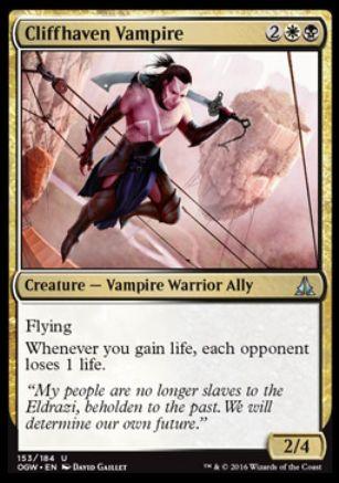 Cliffhaven Vampire(ゲートウォッチの誓い)
