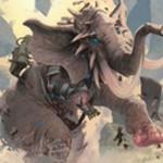 青アンコのインスタント「Gift of Tusks」が公開!相手のクリーチャー1体をバニラの象に!※日本語名は「牙の贈り物」!