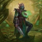 ゲートウォッチの誓いの緑レア生物「Sylvan Advocate」が公開!土地が貯まると自身と土地クリーチャーを全体強化するエルフドルイド同盟者!※日本語名「森の代言者」が判明!