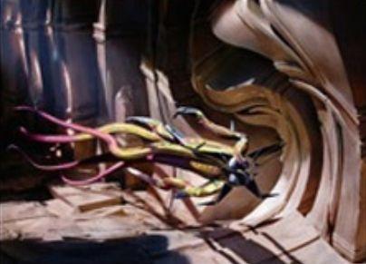 青レアの欠色エルドラージ「Dimensional Infiltrator」(ゲートウォッチの誓い)