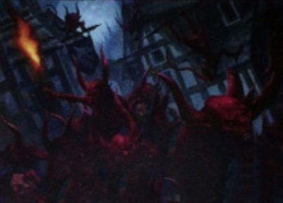 赤レアのソーサリー「Devils' Playground」(イニストラードを覆う影)