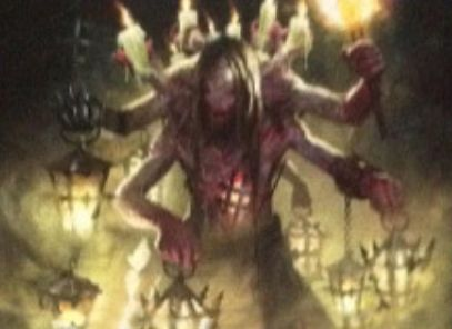 青コモン生物「Lamplighter of Selhoff」(イニストラードを覆う影)