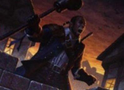 緑アンコの狼男「Duskwatch Recruiter(イニストラードを覆う影)」