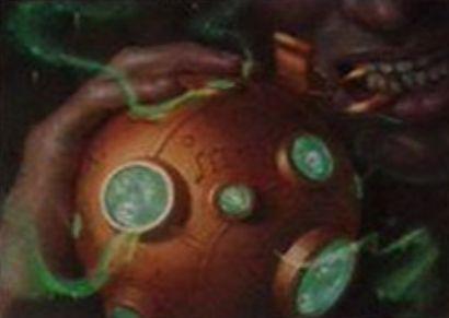 アーティファクト「Explosive Apparatus」(イニストラードを覆う影)